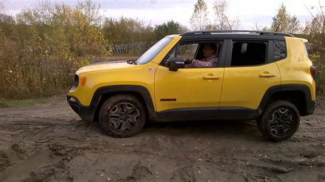 Jeep Renegade Trailhawk Off-road Training