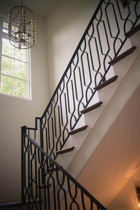 staircase railings designs wrought iron stair railings process and design