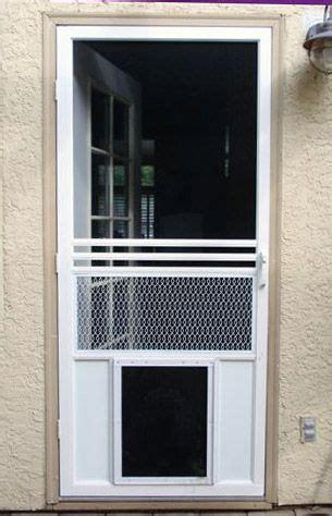pin  linda armendariz  ideas   house dog screen door screen door dog door