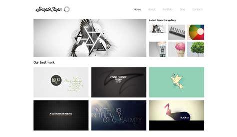 5 Free Website Design Templates