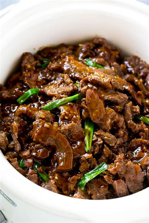slow cooker mongolian beef dinner at the zoo