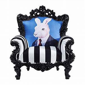 Kare Design De Online Shop : kare design sessel barock hase schwarz und wei mr rabbit retro stuhl ~ Bigdaddyawards.com Haus und Dekorationen