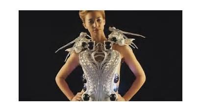 3d Spider Printing Dresses Robotic Printed Futuristic
