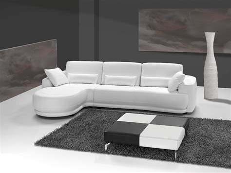 canap en blanc grand canap d 39 angle cuir italien blanc sofamobili