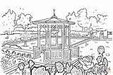 Coloring Pages Hidden Object Park Imagine Children Gazebo Drawing Pixel Max Pattern Pxfuel sketch template