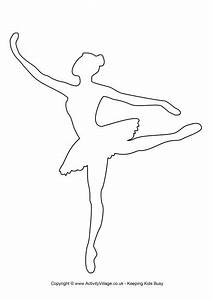 ballerina template 2 pinterest With pin the tutu on the ballerina template