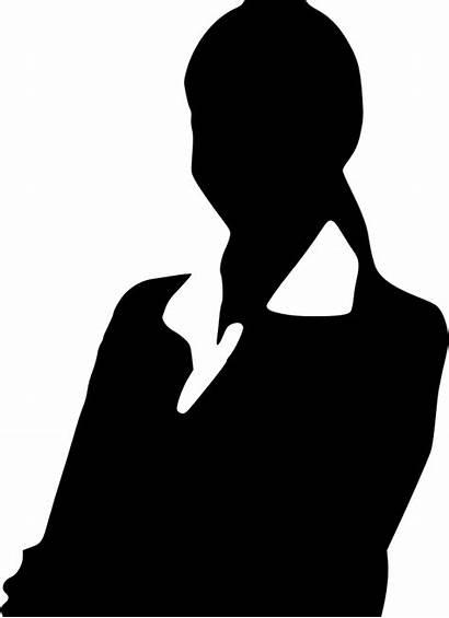 Professional Silhouette Clip Woman Icon Business Newdesignfile