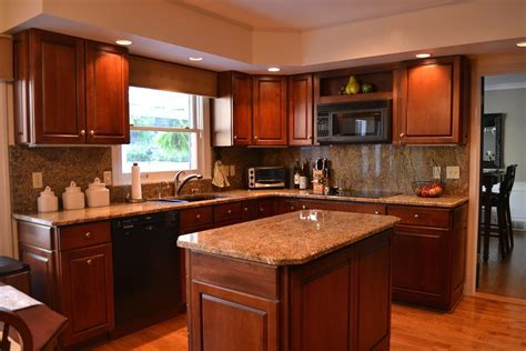 Kitchen : Kitchen Color Combinations Cherry Cabinets
