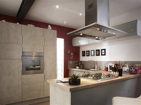 cuisine sur 3 îlot et bar dans une cuisine de 10m leroy merlin