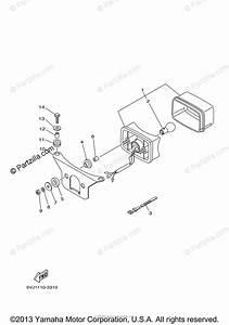 Yamaha Atv 2004 Oem Parts Diagram For Taillight