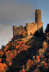 Rhine River Castle, Germany | CASTLES | Pinterest