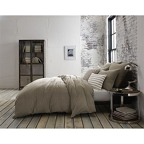 kenneth cole duvet cover kenneth cole mineral yarn dyed duvet cover bed bath beyond