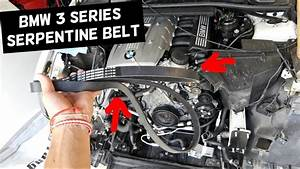 Bmw E90 Serpentine Belt Replacement Diagram 325i 328i E91 E92 E93 323i 325xi 328xi