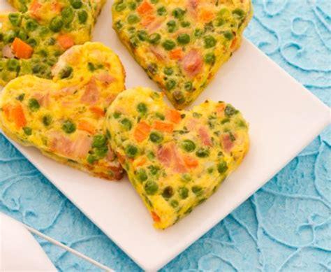 cuisine facil receta infantil fácil tortilla de verduras para niños