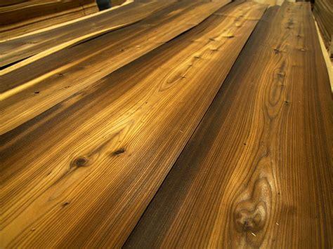 larch quarter cut fume rustic natural wood veneers
