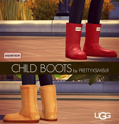 prettyxsimblrs child boots ts aka bonus