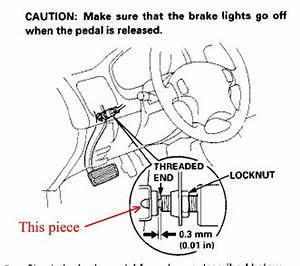 88 00 honda civic brake light switch stopper stop 89 90 91 With stop lamp switch on a 94 nissan altima