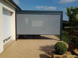 rideau pergola exterieur conceptions de maison blanzzacom With rideau exterieur pour pergola 7 fermeture verticale de terrasse pergola et balcon ziptrak