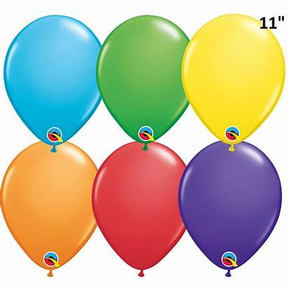 Rainbow Bright Balloons Latex Round Assorted Clipart