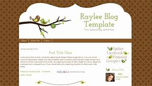 bird blogger template raylee With how to create blogspot template