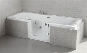 Porte Pour Baignoire : catalogue salles de bains handicap 2018 ~ Premium-room.com Idées de Décoration