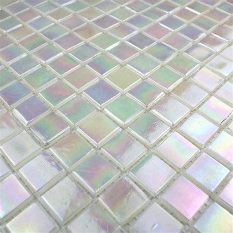pate de verre pas cher mosaique rainbow carrelage inox fr