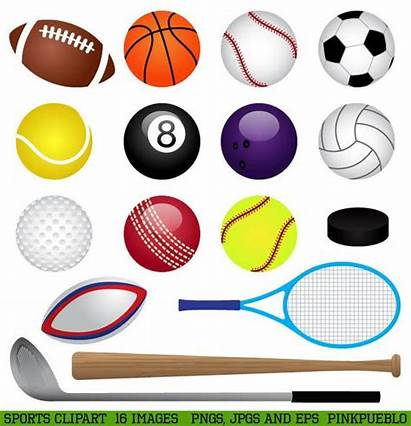 Clip Clipart Basketball Football Baseball Golf Tennis