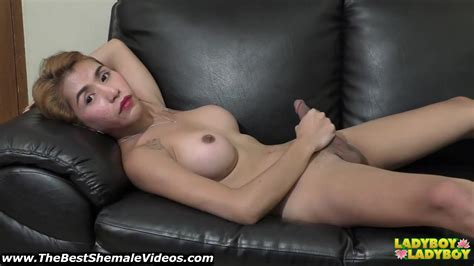 Jen Busty And Sexy big cock philippines Ladyboy Stroking In Hd