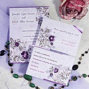 lavender inspired wedding color ideas and wedding With free printable wedding invitations lavender
