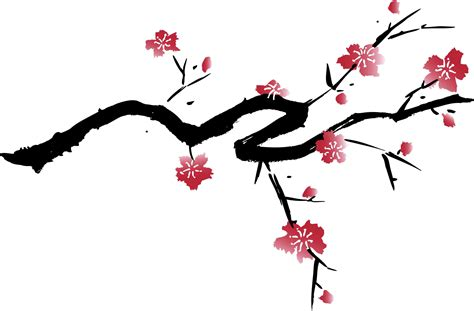japanese cherry blossom clipart clipground