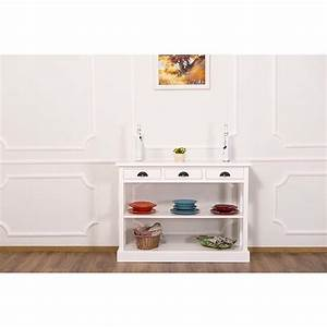 Console De Cuisine : console 3 tiroirs et 1 tag re le d p t des docks ~ Teatrodelosmanantiales.com Idées de Décoration