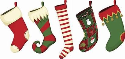 Stocking Christmas Stockings Vector Clip Illustration Illustrations