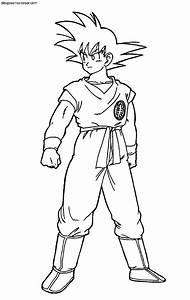 Dibujos de Goku (Dragonball Z) para #Colorear