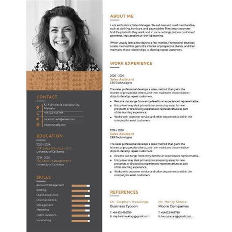 page resume template   word excel