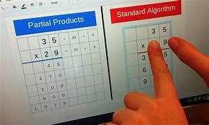 Fourth Grade Lesson Partial Products  U0026 Standard Algorithm