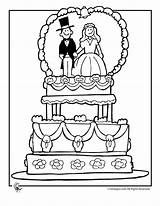 Coloring Groom Bride Pages Popular sketch template