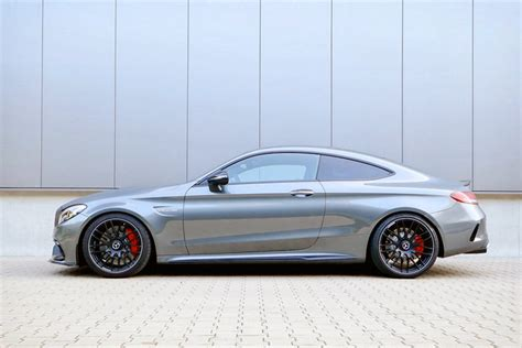 Mercedes-AMG C 63 Coupe dropped on H&R springs - ForceGT.com
