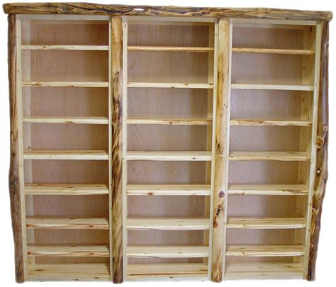 williams log cabin furniture bookcases