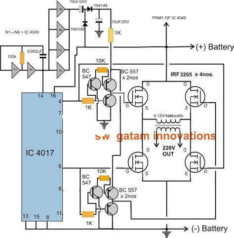 Full Bridge Kva Inverter Circuit Using Channel Mosfets