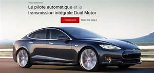 Tesla 4x4 Prix : tesla motors model s voiture electrique ~ Gottalentnigeria.com Avis de Voitures