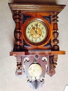 Wanduhren Mit Pendel Antik : antike wanduhr pendeluhr regulator alt ~ Watch28wear.com Haus und Dekorationen