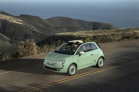 fiat launches retro   edition cabrio