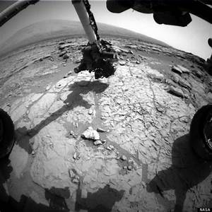 Nasa's Mars Curiosity Rover Robot Drills Hole In The ...