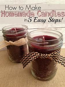 40 simple candle making instructions and ideas With how to print on candles