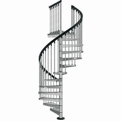 Spiral Staircase Exterior Kit Kits Galvanized Stair