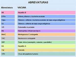Calendario de vacunación en la Comunidad Valenciana 2018