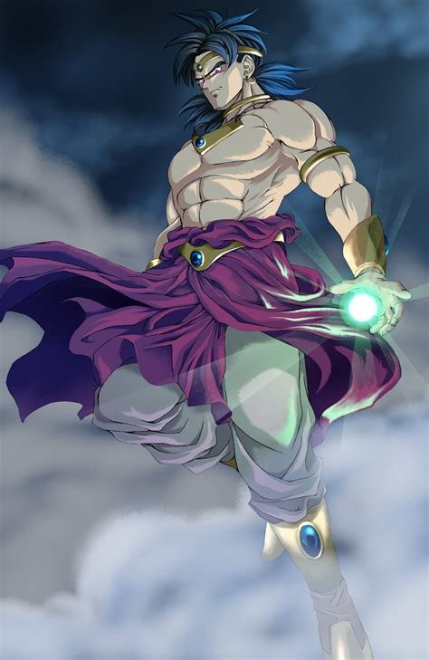 dragon ball  wallpapers broly restrained super saiyan