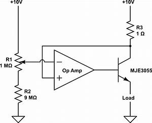 Op Amp - What Does This Op Amp  Transistor Circuit Do   Revised Circuit
