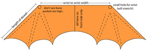 toilet paper roll bat wing template how to make your own bat wings sir tec moth wing ideas