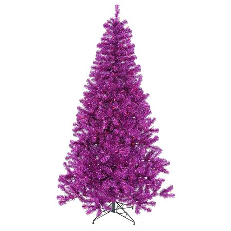 5 foot purple christmas tree purple mini lights b882051